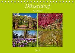 Düsseldorf Nordpark (Tischkalender 2019 DIN A5 quer) von Hackstein,  Bettina