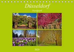 Düsseldorf Nordpark (Tischkalender 2020 DIN A5 quer) von Hackstein,  Bettina