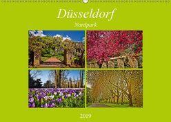 Düsseldorf Nordpark (Wandkalender 2019 DIN A2 quer) von Hackstein,  Bettina