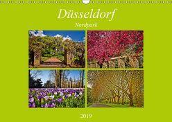 Düsseldorf Nordpark (Wandkalender 2019 DIN A3 quer) von Hackstein,  Bettina