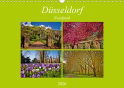 Düsseldorf Nordpark (Wandkalender 2020 DIN A3 quer) von Hackstein,  Bettina