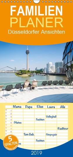 Düsseldorfer – Ansichten – Familienplaner hoch (Wandkalender 2019 , 21 cm x 45 cm, hoch) von rclassen