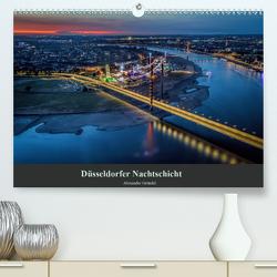 Düsseldorfer Nachtschicht (Premium, hochwertiger DIN A2 Wandkalender 2020, Kunstdruck in Hochglanz) von Gründel,  Alexander