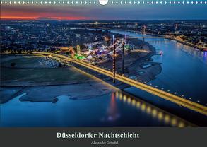 Düsseldorfer Nachtschicht (Wandkalender 2020 DIN A3 quer) von Gründel,  Alexander