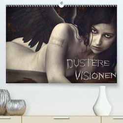 Düstere Visionen (Premium, hochwertiger DIN A2 Wandkalender 2021, Kunstdruck in Hochglanz) von Darkfish