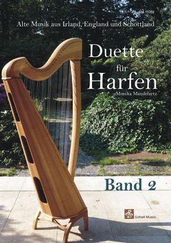 Duette für Harfen – Band 2 von Mandelartz,  Monika