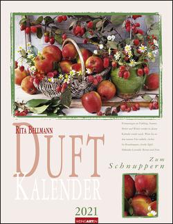 Duftkalender Kalender 2021 von Bellmann,  Rita, Weingarten