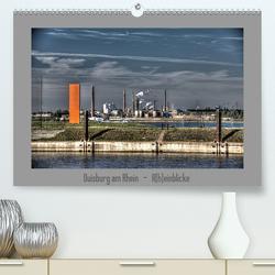 Duisburg am Rhein – R(h)einblicke (Premium, hochwertiger DIN A2 Wandkalender 2020, Kunstdruck in Hochglanz) von Petsch,  Joachim