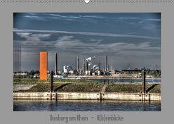 Duisburg am Rhein – R(h)einblicke (Wandkalender 2019 DIN A2 quer) von Petsch,  Joachim