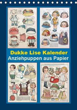 Dukke Lise Kalender – Anziehpuppen aus Papier (Tischkalender 2019 DIN A5 hoch) von Erbs,  Karen