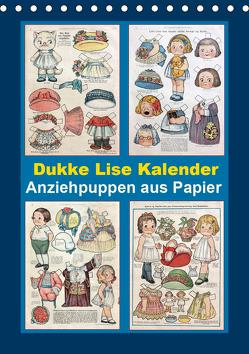 Dukke Lise Kalender – Anziehpuppen aus Papier (Tischkalender 2020 DIN A5 hoch) von Erbs,  Karen