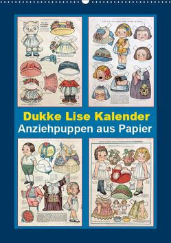 Dukke Lise Kalender – Anziehpuppen aus Papier (Wandkalender 2019 DIN A2 hoch) von Erbs,  Karen