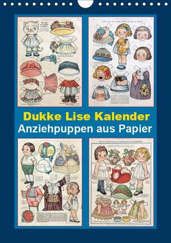 Dukke Lise Kalender – Anziehpuppen aus Papier (Wandkalender 2019 DIN A4 hoch) von Erbs,  Karen
