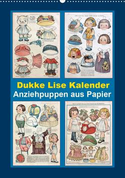 Dukke Lise Kalender – Anziehpuppen aus Papier (Wandkalender 2020 DIN A2 hoch) von Erbs,  Karen