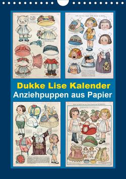 Dukke Lise Kalender – Anziehpuppen aus Papier (Wandkalender 2020 DIN A4 hoch) von Erbs,  Karen