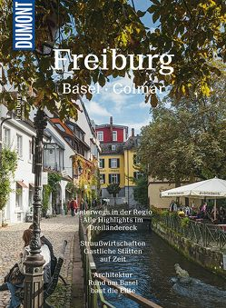DuMont Bildatlas Freiburg, Basel, Colmar von Freyer,  Ralf, Tomaschko,  Cornelia