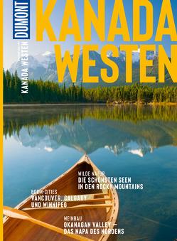DuMont BILDATLAS Kanada Westen von Heuer,  Frank, Imre,  Manuela