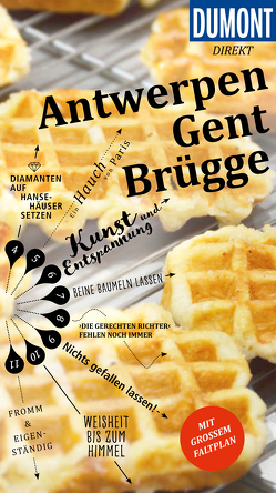 DuMont direkt Reiseführer Antwerpen, Gent, Brügge von Fridrich,  Patricia