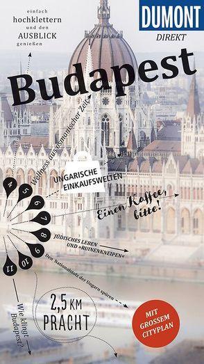 DuMont direkt Reiseführer Budapest von Eickhoff,  Matthias
