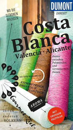 DuMont direkt Reiseführer Costa Blanca, Valencia und Alicante von Blázquez,  Manuel García