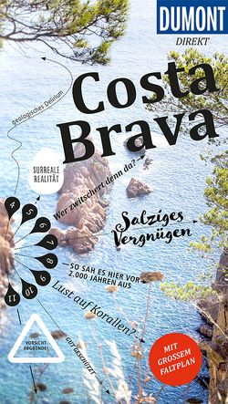 DuMont direkt Reiseführer Costa Brava von Wiebrecht,  Ulrike