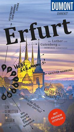 DuMont direkt Reiseführer Erfurt von Seidel,  Ulrich
