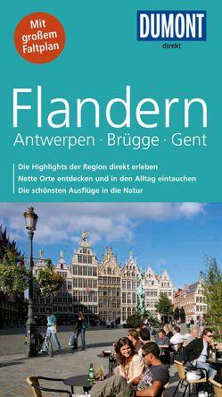DuMont direkt Reiseführer Flandern, Antwerpen, Brügge, Gent von Graf,  Margarete, Tiburzy,  Reinhard