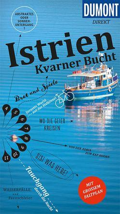 DuMont direkt Reiseführer Istrien, Kvarner Bucht von Schetar,  Daniela