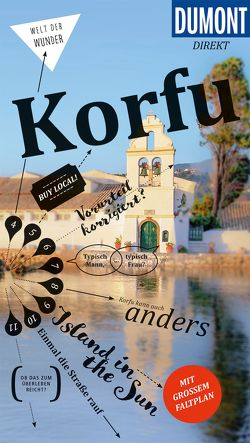DuMont direkt Reiseführer Korfu von Bötig,  Klaus