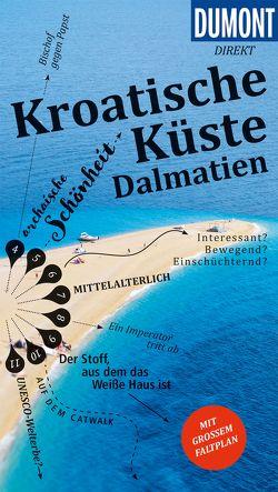 DuMont direkt Reiseführer Kroatische Küste Dalmatien von Schetar,  Daniela