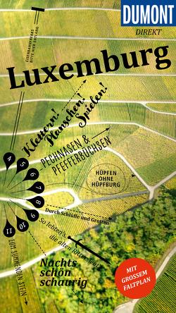 DuMont direkt Reiseführer Luxemburg von Tiburzy,  Reinhard