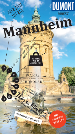 DuMont direkt Reiseführer Mannheim von Wind,  Annika
