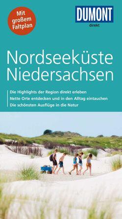 DuMont direkt Reiseführer Nordseeküste Niedersachsen von Adams,  Nicoletta, Banck,  Claudia