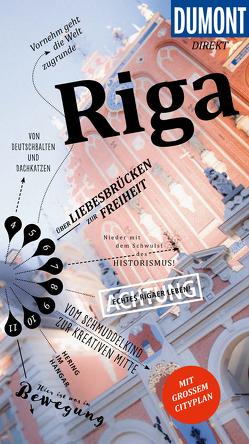 DuMont direkt Reiseführer Riga von Könnecke,  Jochen
