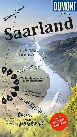 DuMont direkt Reiseführer Saarland von Felk,  Wolfgang