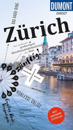 DuMont direkt Reiseführer Zürich von Krause,  Patrick