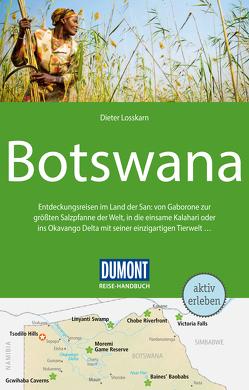 DuMont Reise-Handbuch Reiseführer Botswana von Losskarn,  Dieter