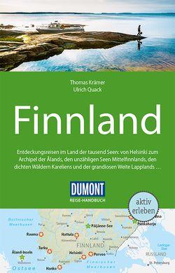 DuMont Reise-Handbuch Reiseführer Finnland von Krämer,  Thomas, Quack,  Ulrich