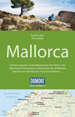 DuMont Reise-Handbuch Reiseführer Mallorca von Breda,  Oliver, Lipps-Breda,  Susanne