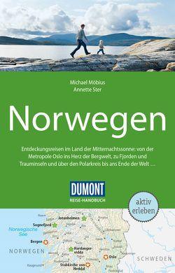 DuMont Reise-Handbuch Reiseführer Norwegen von Möbius,  Michael, Ster,  Annette