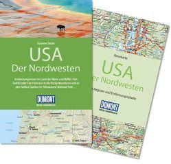 DuMont Reise-Handbuch Reiseführer USA, Der Nordwesten von Satzer,  Susanne