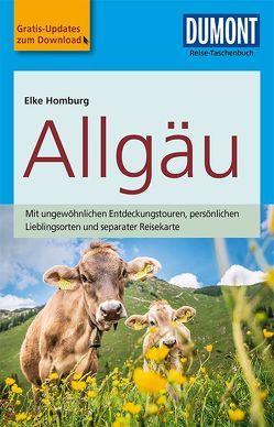 DuMont Reise-Taschenbuch Reiseführer Allgäu von Homburg,  Elke