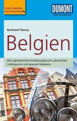 DuMont Reise-Taschenbuch Reiseführer Belgien von Tiburzy,  Reinhard
