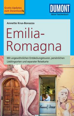 DuMont Reise-Taschenbuch Reiseführer Emilia-Romagna von Krus-Bonazza,  Annette