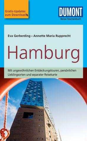 DuMont Reise-Taschenbuch Reiseführer Hamburg von Gerberding,  Eva, Rupprecht,  Annette Maria