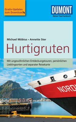 DuMont Reise-Taschenbuch Reiseführer Hurtigruten von Möbius,  Michael, Ster,  Annette