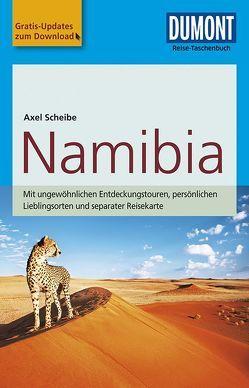 DuMont Reise-Taschenbuch Reiseführer Namibia von Scheibe,  Axel
