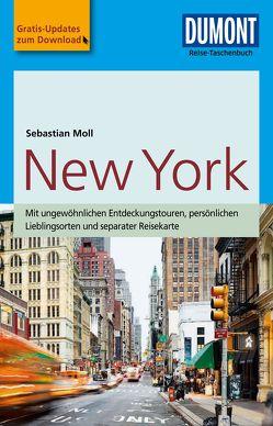 DuMont Reise-Taschenbuch Reiseführer New York von Moll,  Sebastian