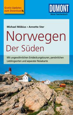 DuMont Reise-Taschenbuch Reiseführer Norwegen, Der Süden von Möbius,  Michael, Ster,  Annette
