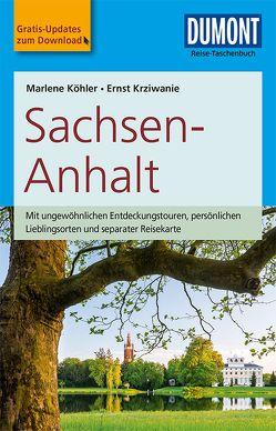 DuMont Reise-Taschenbuch Reiseführer Sachsen-Anhalt von Köhler,  Marlene, Krziwanie,  Ernst